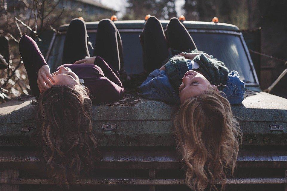Mit Freunden Spaß haben